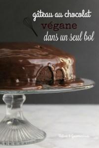 Gâteau au chocolat végétalien - Valises & Gourmandises