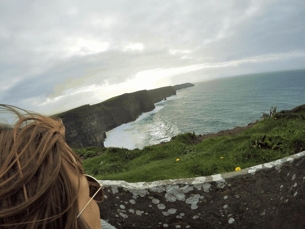 Falaises de Moher près de Galway, Irlande