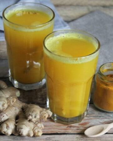 Ce jus d'orange chaud est idéal pour combattre le rhume et la grippe!