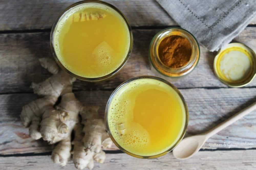 Un jus d'orange chaud à consommer pour prévenir ou combattre le rhume et la grippe!