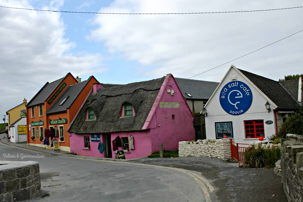 Adorable Doolin village, western Ireland