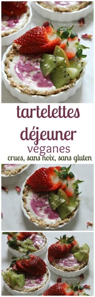Parfaites pour le brunch de Pâques. Végétaliennes, crues, sans noix et sans gluten - Valises & Gourmandises