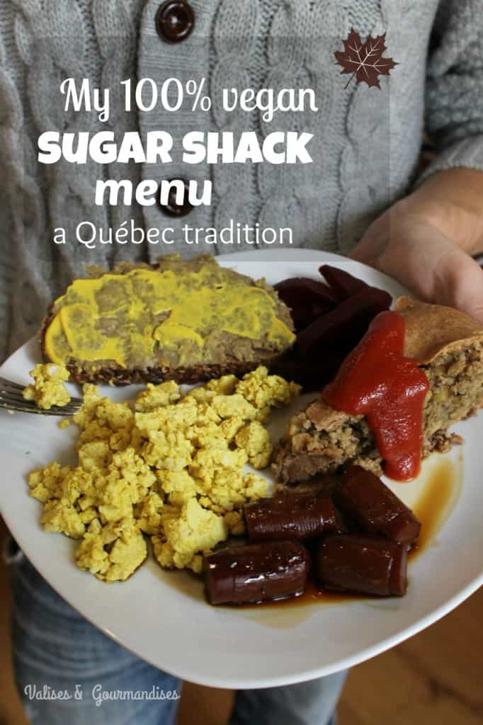sugar shack meal on a plate