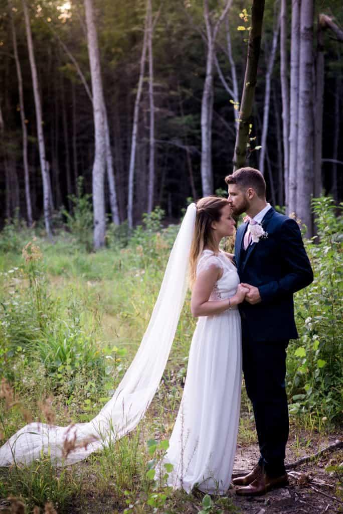 Mariage chic et rustique, Mon mariage végane