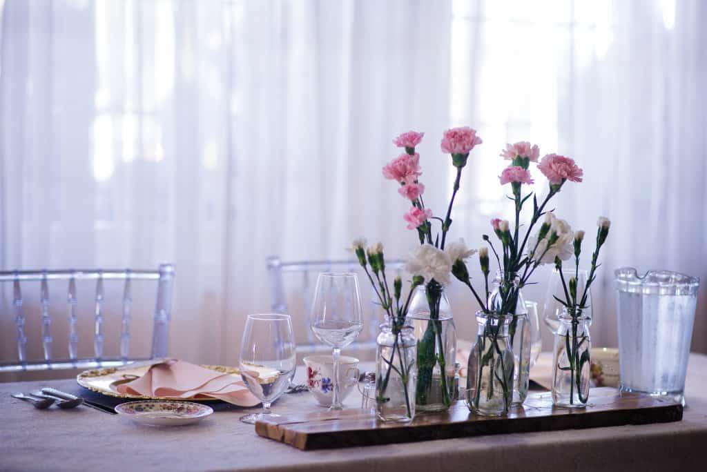 Table des mariés, chic et rustique - Mon mariage végane