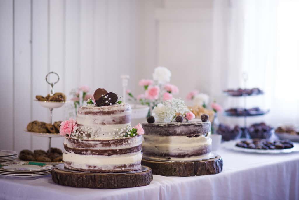Gâteaux mariage végane DIY