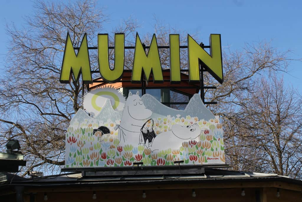 Mumin exhibit at Junibacken Museum
