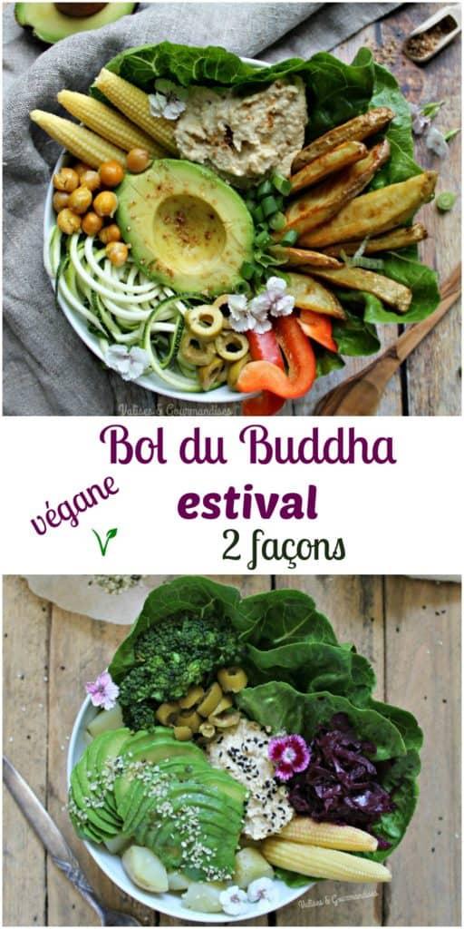 2 bols du Buddha véganes et faciles àréaliser pour l'été