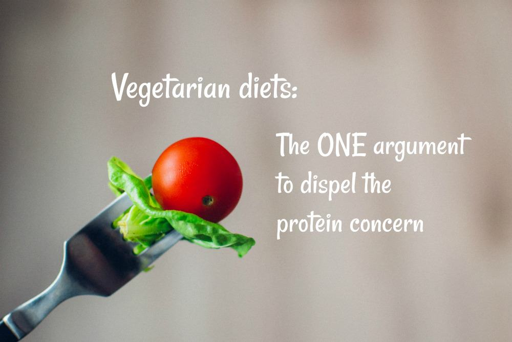Do vegans really suffer from protein deficiency?