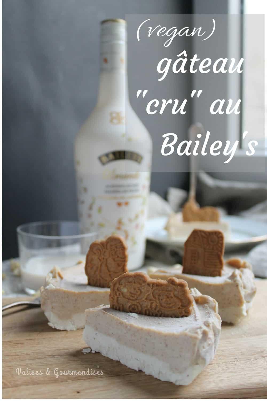 Gâteau au Bailey's végane - Valises & Gourmandises