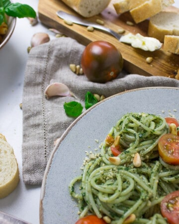Easy vegan weeknight pasta