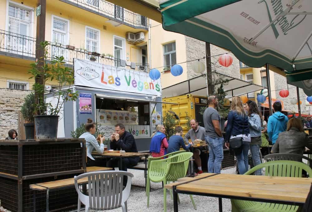 Vegan burgers in Budapest