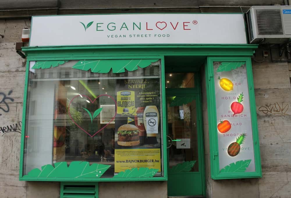 Vegan burgers & hot-dogs in Budapest