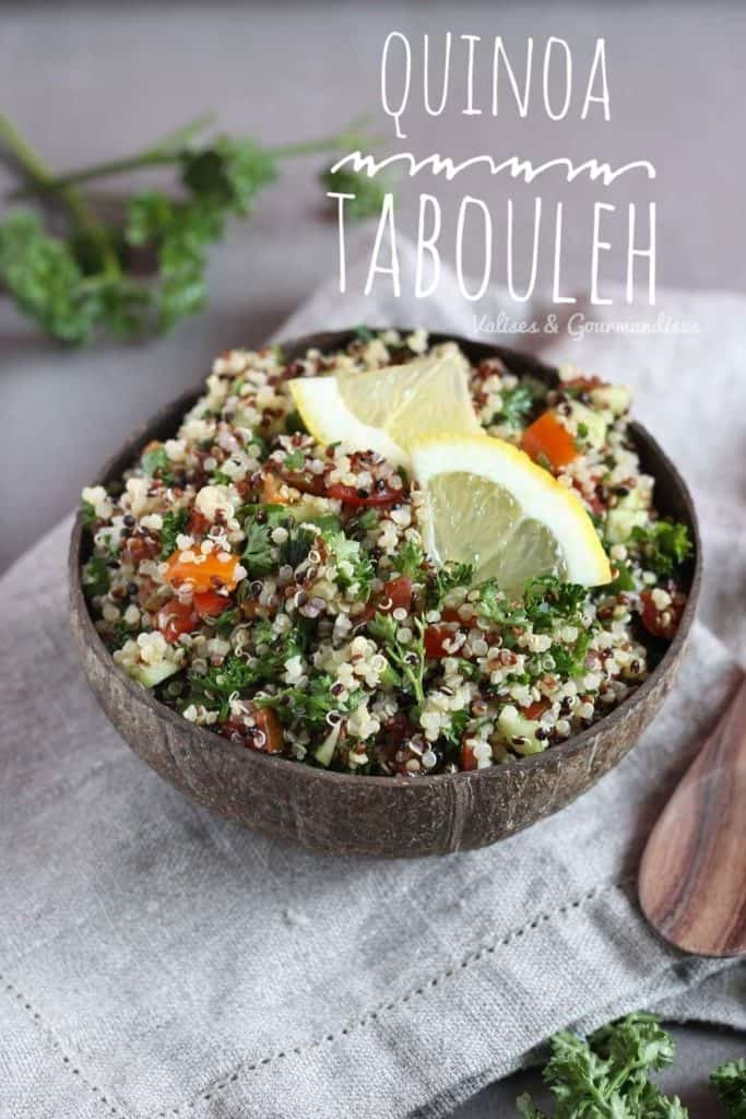 How to make quinoa tabouleh, gluten-free