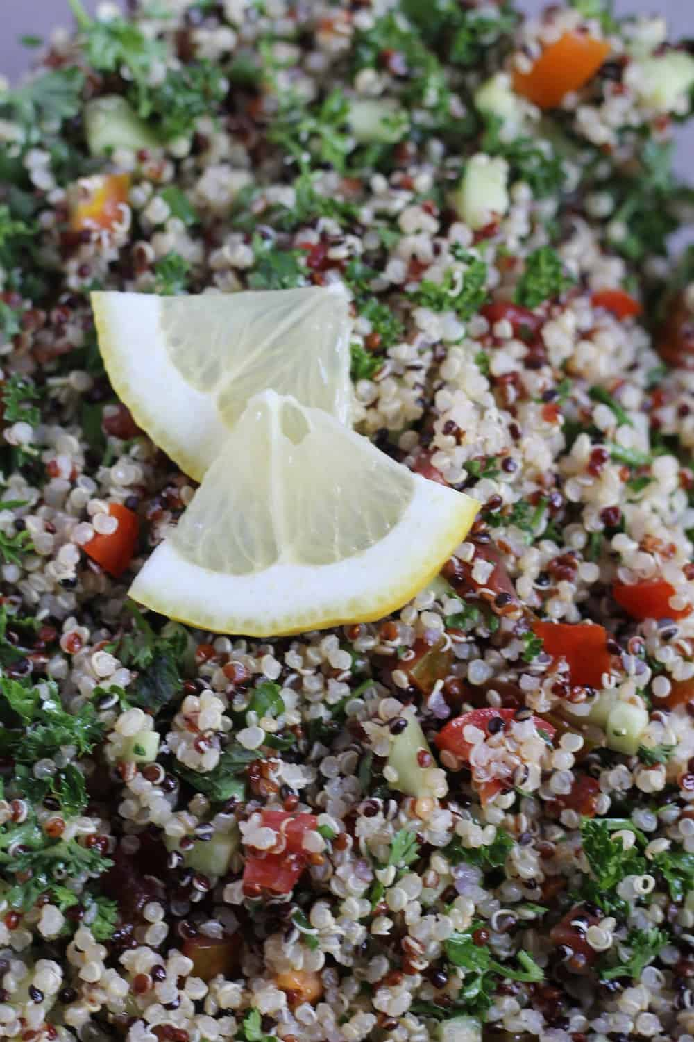 How to make quinoa tabouleh