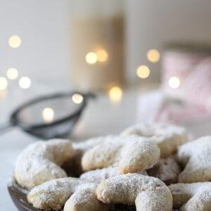 Vanillekipferl véganes, un classique allemand - Valises & Gourmandises