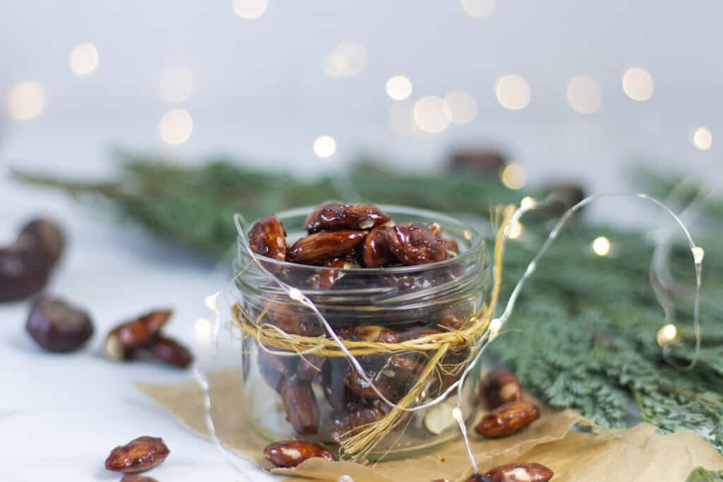 German burnt almonds, a Christmas classic
