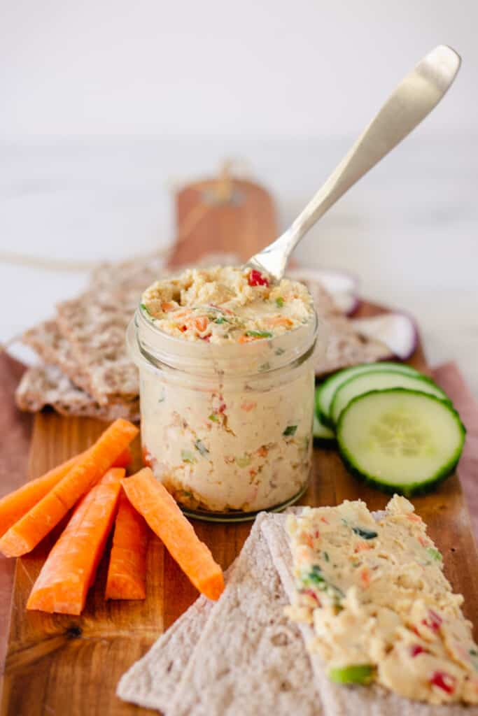 Chickpea And Smoked Tofu Spread Valises Gourmandises