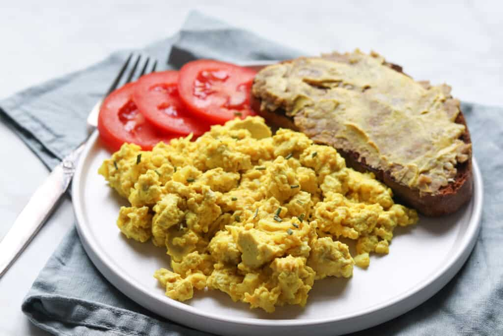 the best vegan scrambled tofu