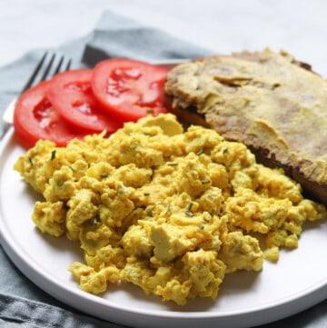 the best vegan scrambled tofu